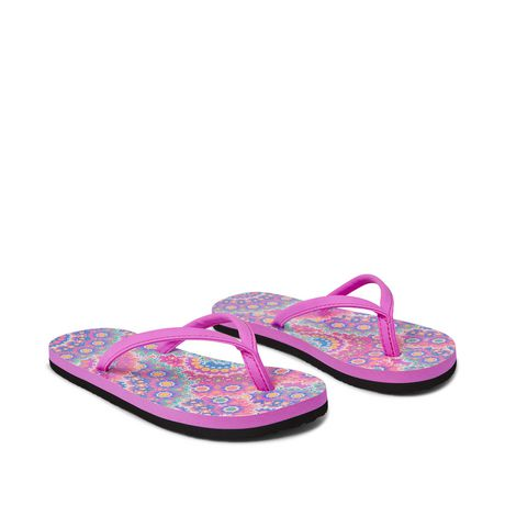 George Girls' Floral Beach Sandal - image 2 of 4