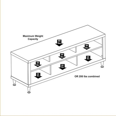 "Series 9 Designer 55"" TV Stand - image 4 of 5"