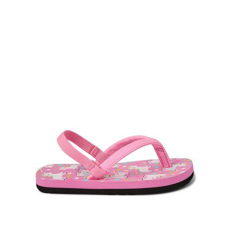 George Toddler Girls' Floral Beach Sandal - image 1 of 4
