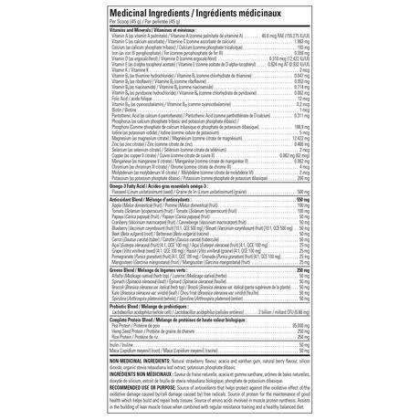 Boisson nutritionelle protéinée Tout-en-un Vegan Pure Baies en poudre - image 2 de 2