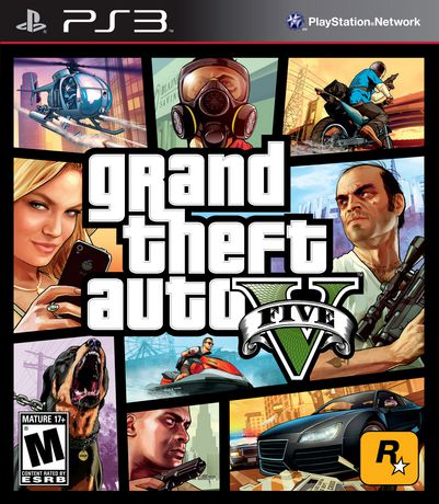Grand Theft Auto V (PS3) - image 1 of 8