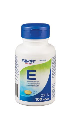 Equate Vitamin E 90 mg AT/200 IU, 100 Capsules