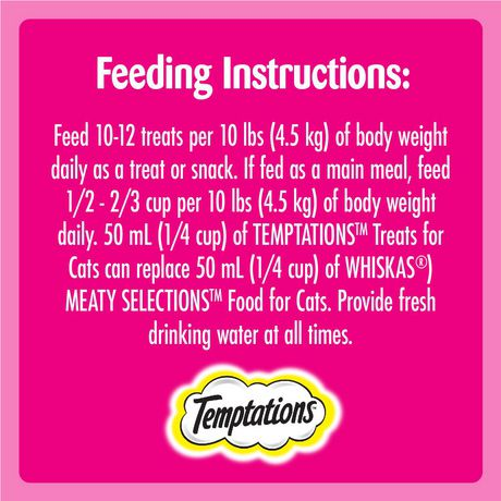 Whiskas Temptations Hearty Beef Flavour Treats for Cats - image 3 of 4