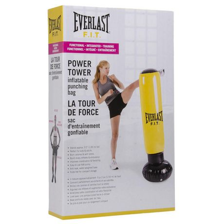 Everlast Power Tower Inflatable Punching Bag Walmart Canada