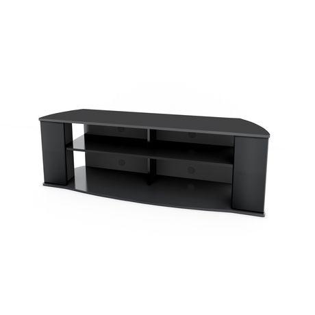 Prepac Essentials 60-inch Black TV Stand - image 2 of 5