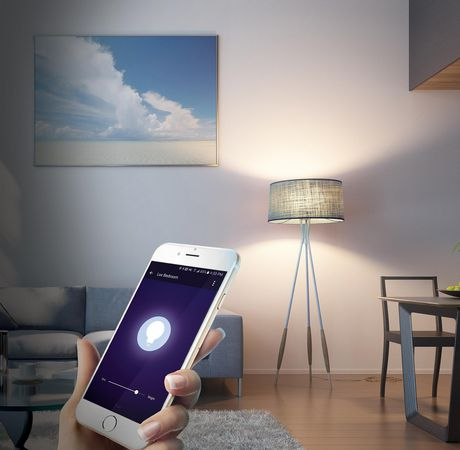 Merkury Smart Wi-Fi LED Bulb Dimmable White - image 2 of 4