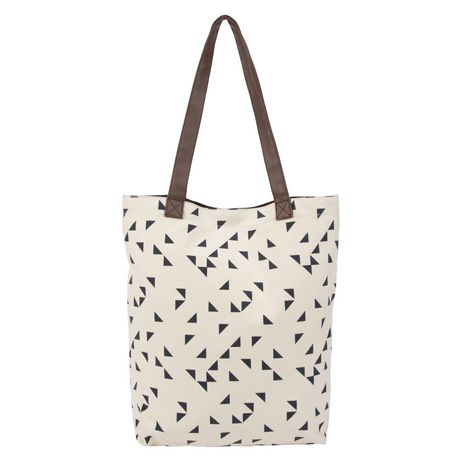 George Canvas Tote with PVC Handles - image 2 of 4
