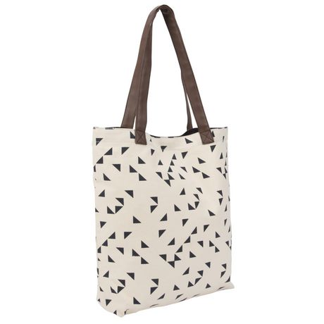 George Canvas Tote with PVC Handles - image 1 of 4