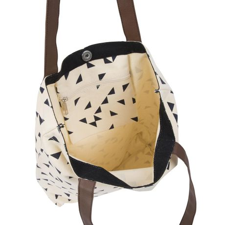 George Canvas Tote with PVC Handles - image 3 of 4