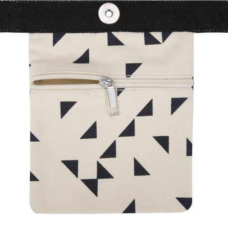 George Canvas Tote with PVC Handles - image 4 of 4