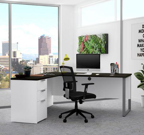 Bestar Pro-Concept plus L-Desk with Metal Leg - image 2 of 3