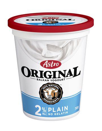 Astro® Original Plain Balkan Style 2% M.F. Yogurt | Walmart Canada