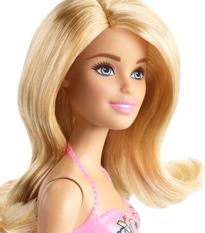 New Barbie Beach Doll still in package. Package is