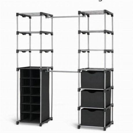 furniture unique storage solution stand organizer for closet outdoor an attractive organizers alone walmart