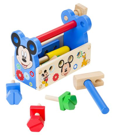2ceefc45d Melissa   Doug Disney Mickey Mouse Clubhouse Wooden Tool Kit (15 pcs) -  image ...