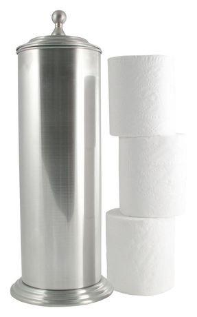 brushed nickel finish extra toilet paper holder walmart canada. Black Bedroom Furniture Sets. Home Design Ideas