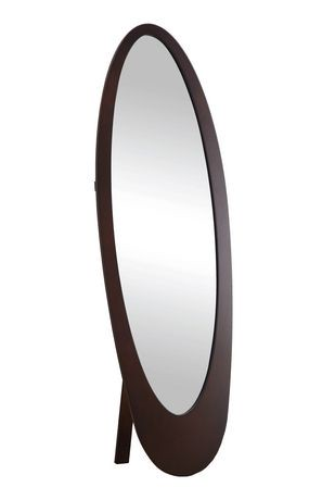 Monarch specialties full length oval mirror walmart canada for Oval mirror canada