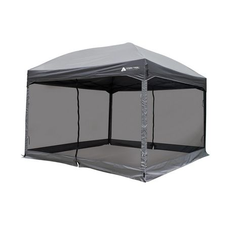 Qty  sc 1 st  Walmart Canada & Ozark Trail 11u0027 x 11u0027 Straight Wall Instant Canopy with Full Mesh ...