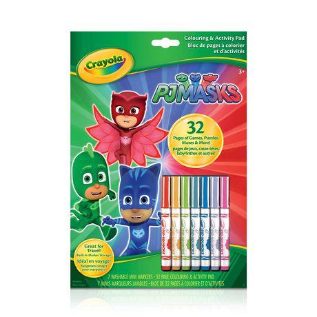 Crayola PJ Masks Colouring and Activity Pad - image 1 of 1