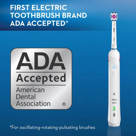 Oral-B PRO 3000 Power Rechargeable Electric Toothbrush with Bluetooth Connectivity Powered by Braun - image 8 of 9