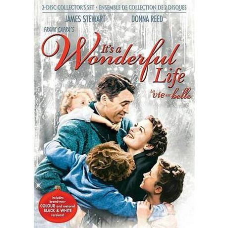 It 39 S A Wonderful Life Colorized Black White 2 Disc Collector 39 S Set