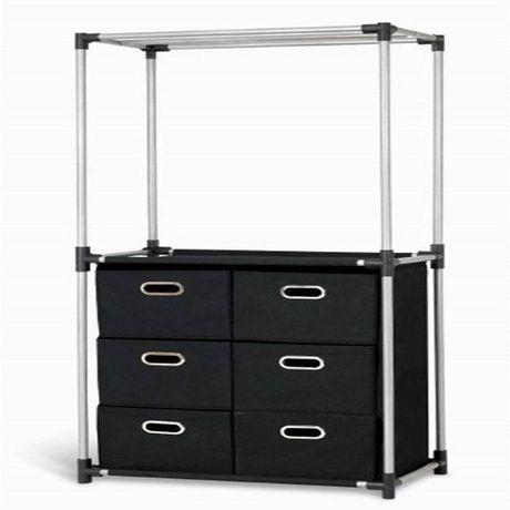 MAINSTAYS Closet Organizer With Storage Drawers