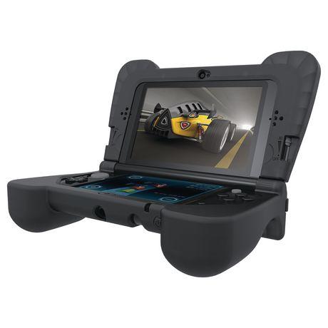 Housse comfort grip dreamgear pour nouvelle console 3ds xl for Housse 3ds xl