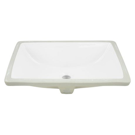 American Imaginations 18.25-in. W Undermount Sink Set White - image 7 of 8