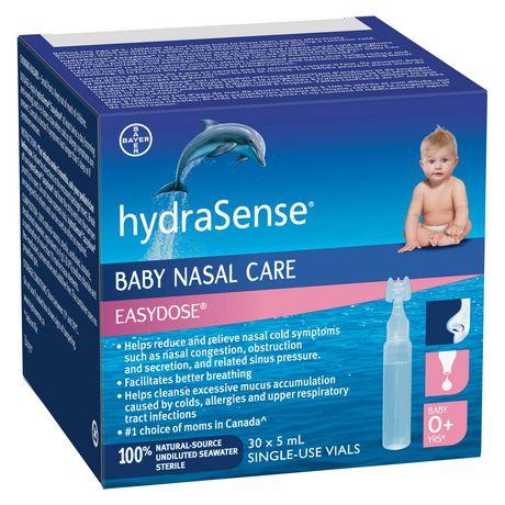 Soins nasaux pour bébés Easy Dose de hydraSense - image 1 de 2
