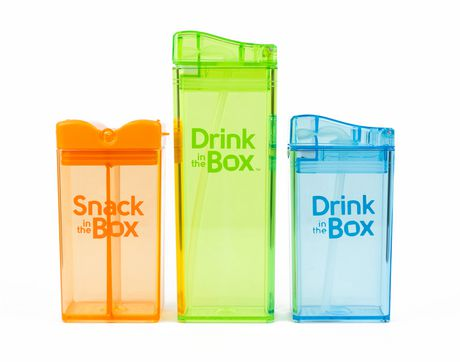 52e70734299 Drink in the Box Boys' 12 oz and 8 oz Drink and Snack Box Value Pack