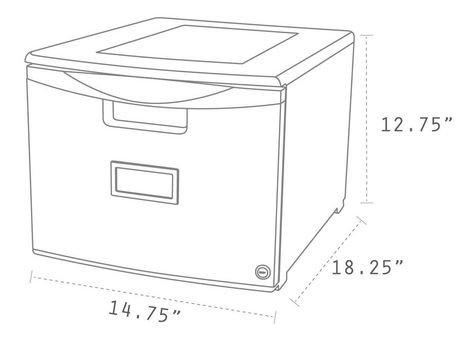mini classeur storex tiroir simple verouillable. Black Bedroom Furniture Sets. Home Design Ideas