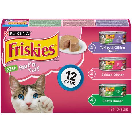 Friskies Surf'n Turf Wet Cat Food Variety Pack - image 1 of 6