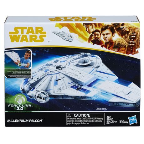 Star Wars Force LINK 2.0 Millennium Falcon with Escape Craft - image 1 of 6