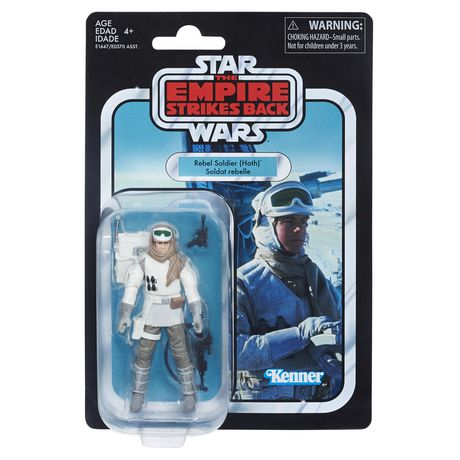 3.75 Star Wars The Vintage Collection REBEL TROOPER inch Figure Hoth