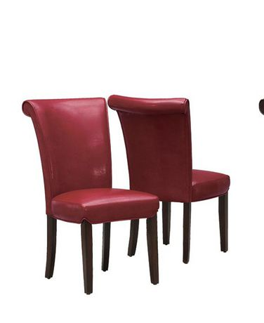 Monarch Specialties Leather Look Dining Chair Walmart Canada