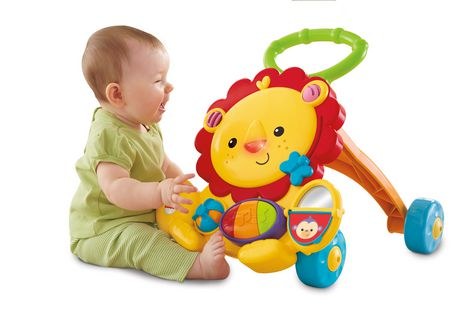 Fisher Price Trotteur fisher-price lion walker | walmart canada