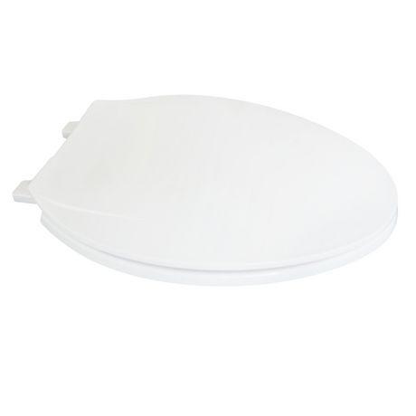 19 Inch Elongated Plastic Toilet Seat White Walmart Canada