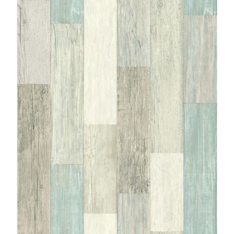 CoastalWeathd Plank Peel&Stick Wallpaper   Walmart Canada