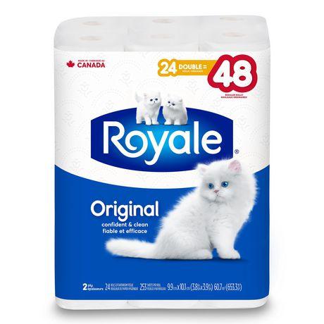 Papier hygiénique Original de ROYALE(MD) à 2 épaisseurs - image 2 de 3