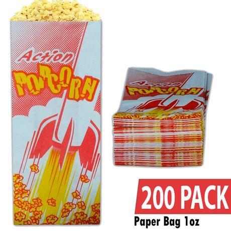 1 oz Popcorn Bags / Pack of 200 - image 1 of 3