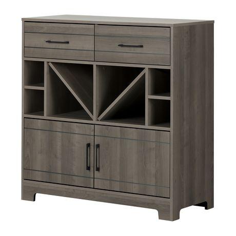 meuble barrangement pour bouteilles avec tiroirs vietti cendr de meubles south shore walmart canada