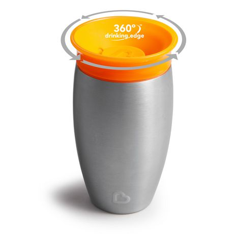 Munchkin Miracle® Stainless Steel 360° Sippy Cup - 10oz - image 5 of 8