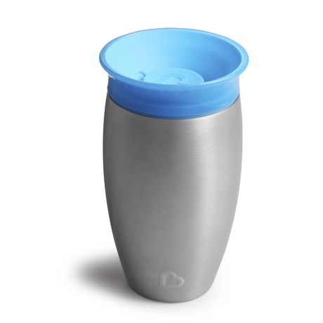 Munchkin Miracle® Stainless Steel 360° Sippy Cup - 10oz - image 7 of 8