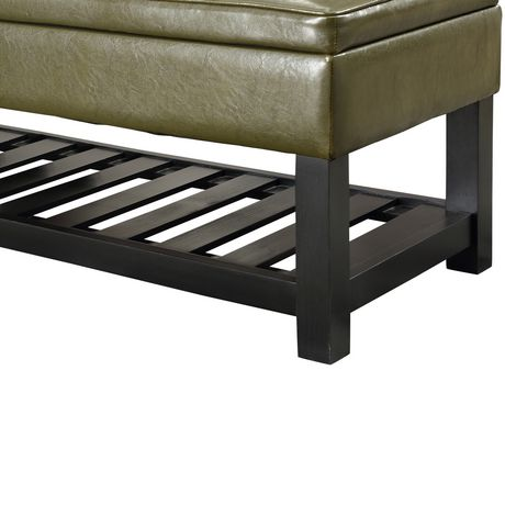 Wyndenhall Essex Rectangular Entryway Storage Ottoman