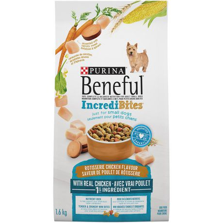 Beneful IncrediBites Dry Dog Food for Small Dogs, Rotisserie Chicken Flavour - image 2 of 9