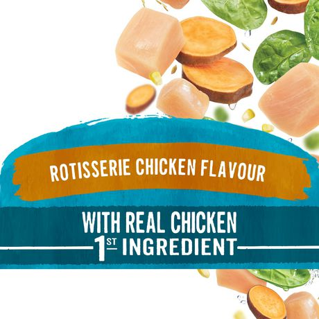 Beneful IncrediBites Dry Dog Food for Small Dogs, Rotisserie Chicken Flavour - image 3 of 9