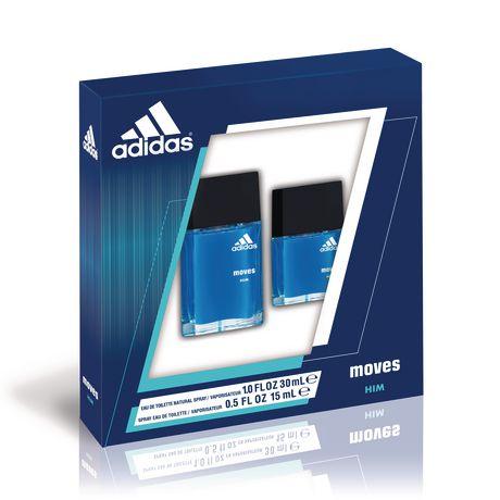 Ensemble cadeau de parfum pour hommes Moves d'Adidas