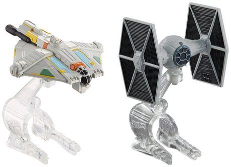 6a3ec7c66ca1 Hot Wheels Star Wars Tie Fighter vs. Ghost Vehicle - 2 Pack - image 1 ...