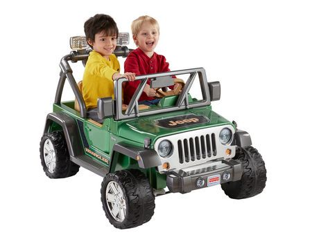 Fisher-Price Power Wheels Jeep Wrangler | Walmart Canada