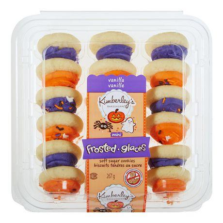 Kimberley's Bakeshoppe Halloween Mini Frosted Soft Sugar Cookies - Vanilla - image 2 of 4